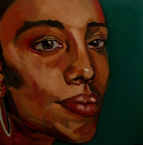 Painting of Malinda Filmmaker