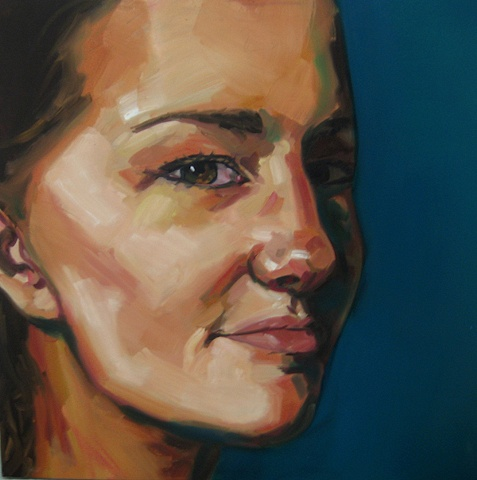 Painting of Katie Painter