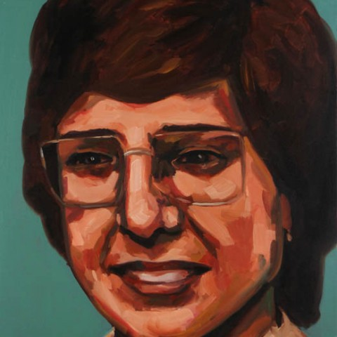 Painting of Christine Ziomkiewicz Missing