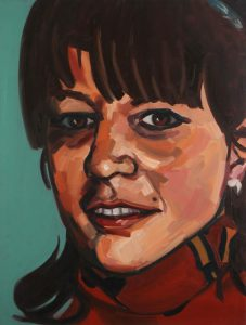 Painting of Josee Boutin Missing