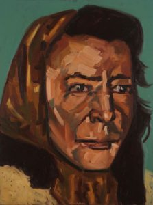 Painting of Joan Lawrence Missing