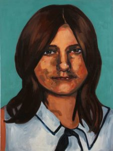 Painting of Diane Bourne Missing