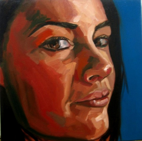 Painting of Jen Painter
